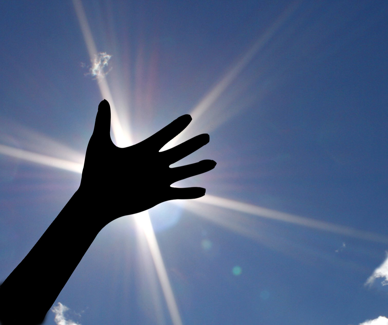 hand-sky