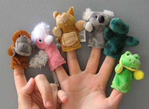 Sở thú mini trên bàn tay có thể được mua tại sân bay Sydney. Ảnh: giftlog