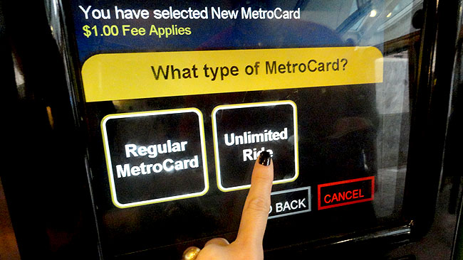 MetroCard-Nova-York-Unlimited-Ride