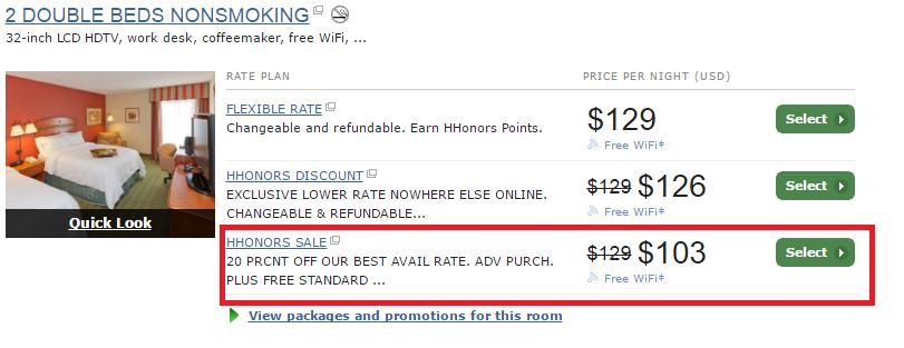 Phòng tại khách sạn Hampton Inn Ellenton/Bradenton (Ellenton, Florida, 34222, Mỹ) có ưu đãi này