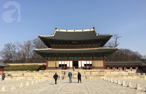 Một góc Changdeokgung