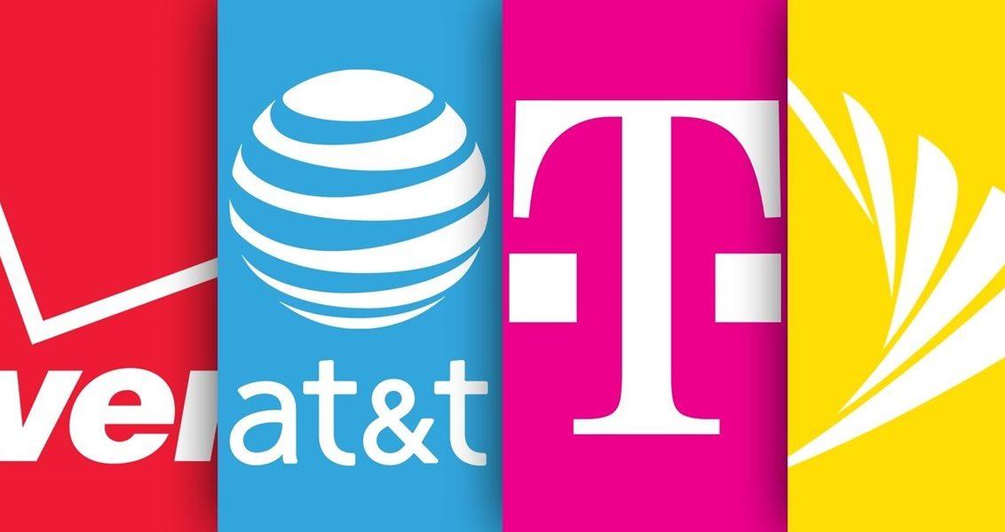 So sánh sim du lịch Mỹ T-Mobile, AT&T, Sprint và Verizon